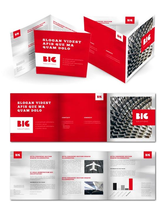 Free  Premium Brochure Templates Photoshop Psd Indesign  Ai