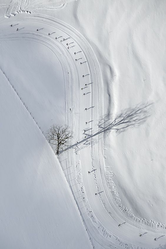 Aerial Winter Landscapes Photography-10 – Fubiz™
