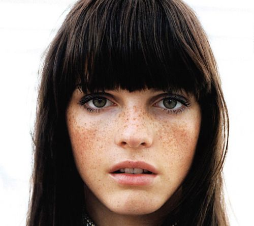 fringe and freckles