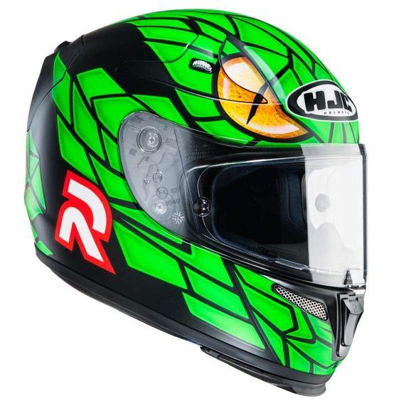 Casque moto HJC R-PHA 10 PLUS GREEN MAMBA - Ixtem-moto.com