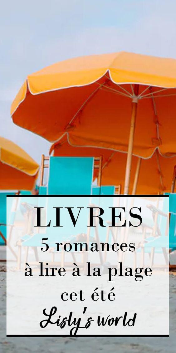 5 livres à lire à la plage | Edition 2020