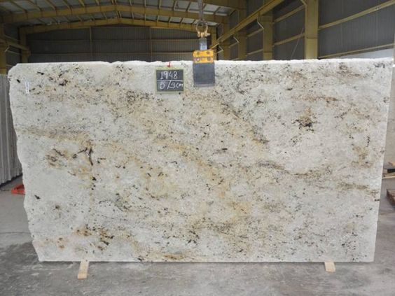 White granite colors for countertops ultimate guide for Cream colored granite countertops