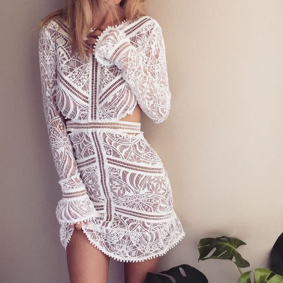 The Emerie Cut-Out Dress