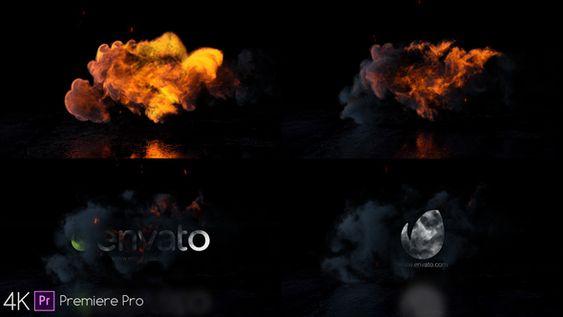 Smoke Logo - Premiere Pro - 5