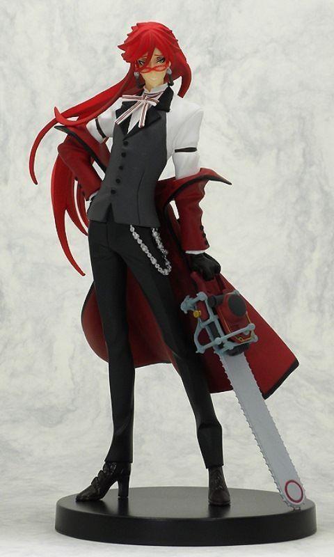 Black Butler Grell Sutcliffe Extra Figure SEGA Anime Manga