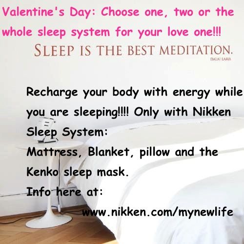 Sleep with Nikken System. Recharge your self with the ...
