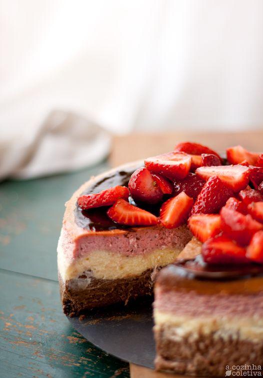 A Cozinha Coletiva: Cheesecake Napolitano