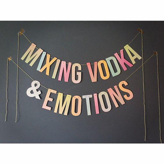 Bring #Drake lyrics, vodka and emotions together for your next party, bridal shower, bachelorette celebration or wedding!