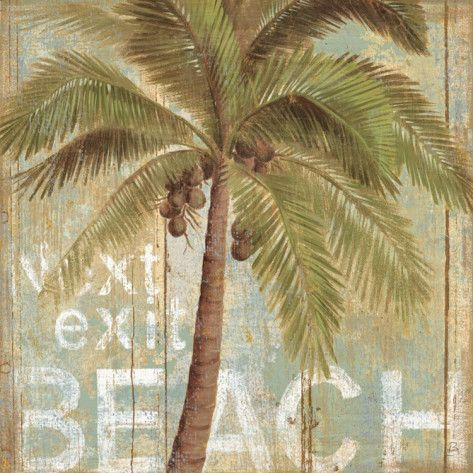 To the Beach I Prints by Daphne Brissonnet at AllPosters.com