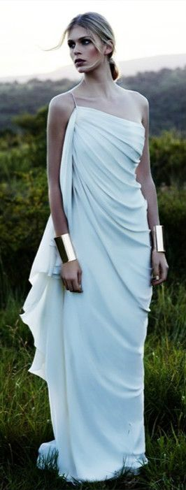 Beautiful, pale blue. Looks like something Wonder Woman would wear, pre-Wonder Woman.