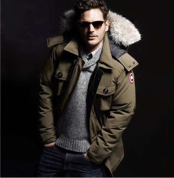 Canada Goose kids replica fake - Justin Timberlake Lends a Hand to Hurricane Sandy Victims wearing ...