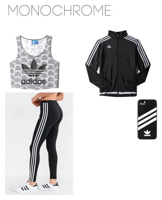 """""""Adidas"""" by neice-09 on Polyvore featuring adidas"""