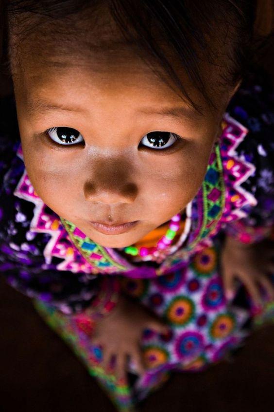 Une petite fille vietnamienne