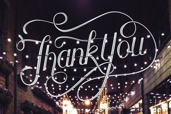Thank You - Nicolas Frederikson | Ligature Collective Introductory by Ligature Collective, via Behance
