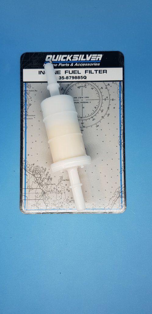 Mercury Mariner Filter Fuel In Line 35 879885q Mercury Marines Fuel