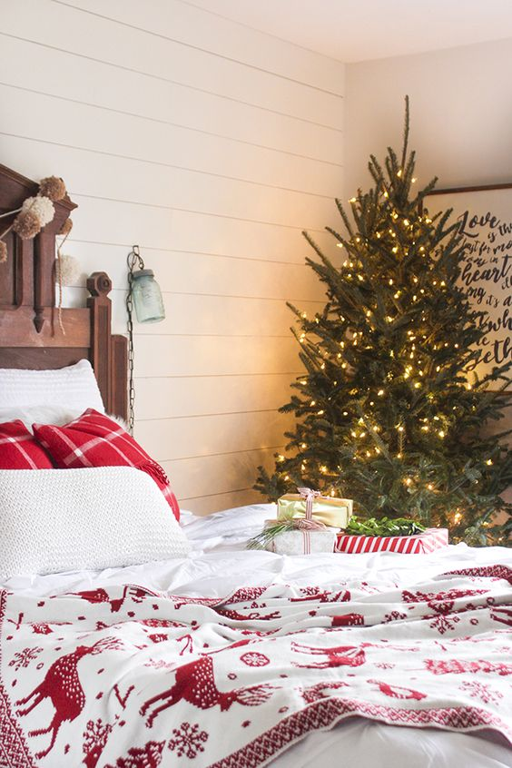 A tour of my home decorated for Christmas including entry, kitchen, dining, living, & master bedroom. Blog hop hosted by Country Living and Cherished Bliss.