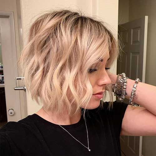 25 Best Pics Of Bob Haircuts For Fine Hair Bob Hairstyles 2018 Short Hairstyles F Hairstyles For Thin Hair Haircuts For Fine Hair Bob Haircut For Fine Hair