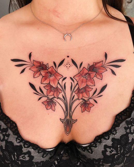 Pin En Pecho Tatuajes