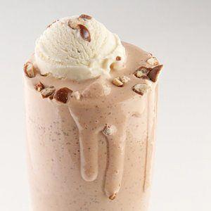 Dark Chocolate Malted Milkshake
