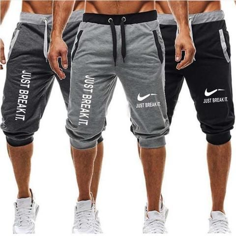 Men GYM Fitness Shorts Running Sport Workout Casual Jogging Training Sweatpants
