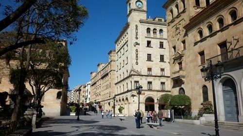 Calle Zamora Salamanca, Spain, a la altura de los Bandos