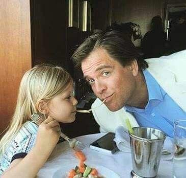 Michael s dcerou Olivií