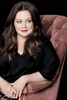 Melissa McCarthy. I absolutely adored Sookie on Gilmore Girls because she was so sweet and adorable and I love Melissa because she is insanely funny and thank God for her being herself.
