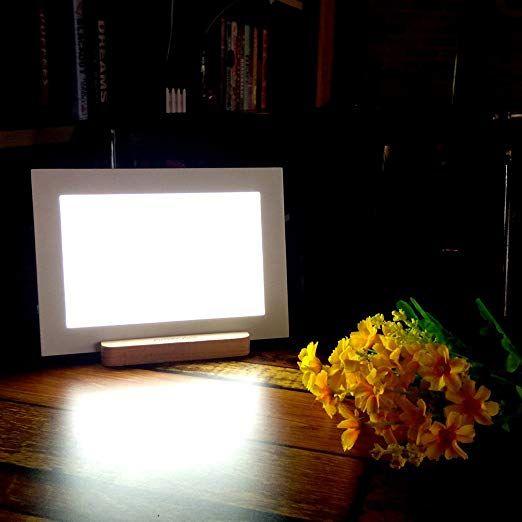 Amazon Com 15 000 Lux A5 Size Happy Natural Sun Lamp Bright Light Box Portable Energy Health Light Therapy Adjustable Port Therapy Lamp Sun Lamp Light Therapy