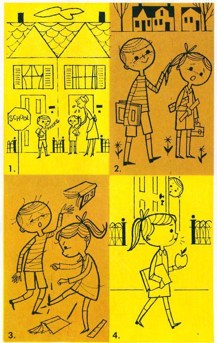 More illustrations from Basic Spelling Goals (Grade 3) 1960. (4 of 6)