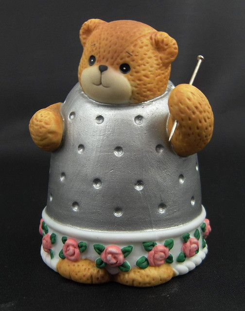 Charished Teddy Thimble