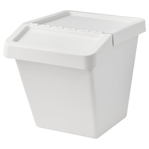Flexi Tub 45l White Officeworks Plastic Container Storage Plastic Crates Storage Boxes