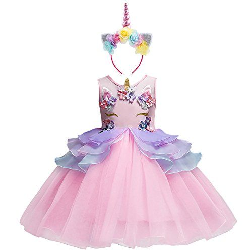 Kids Baby Girls Pompom Tutu Mesh Skirt Formal Party Princess Dress Up Holiday UK