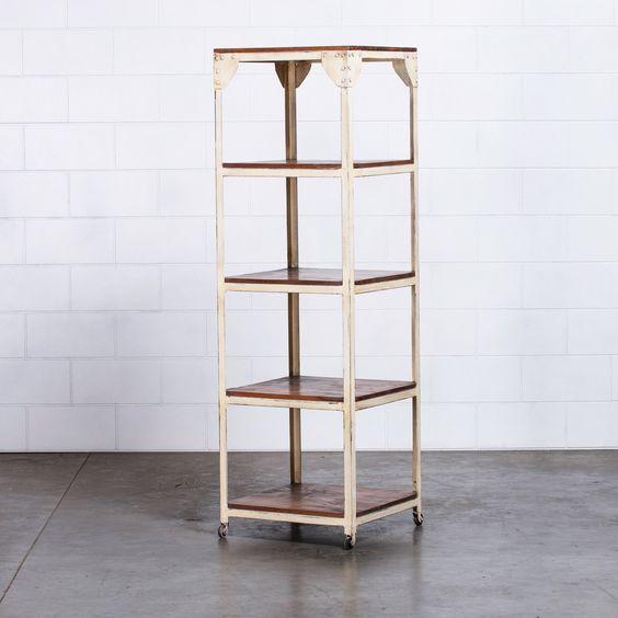 Buy White Janis Storage Shelves Online | Storage Solutions - Retrojan