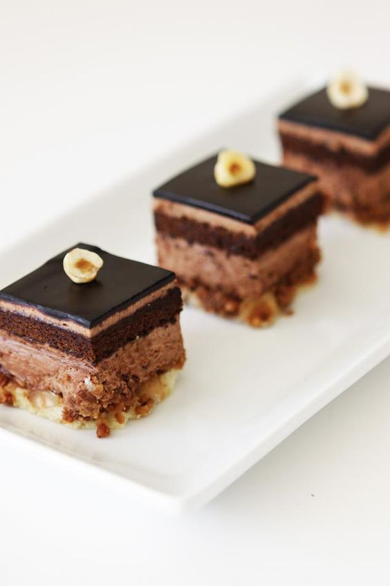 gourmet chocolate cake.... | Mini Desserts | Pinterest ...