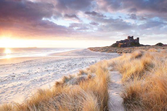 Bamburgh Castle (Northumberland, England)