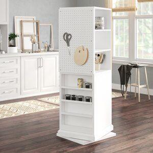Westlake Craft Tower Craft Tables With Storage Furniture Craft Room