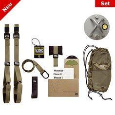 TRX® Force Kit Tactical + TRX® X Mount Wand/Deckenbefestigung