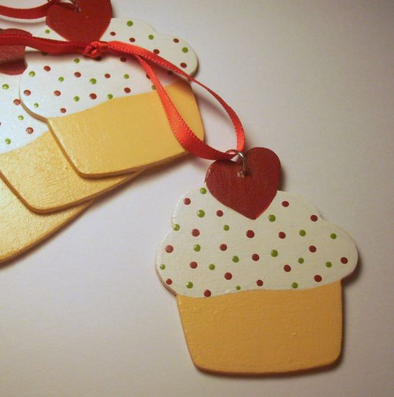 Personalized Christmas Ornament by MoonbeamsDesigns on Etsy, $8.25