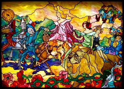 Oz stained glass