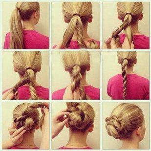 2 sencillos y bonitos peinados paso a paso para niñas