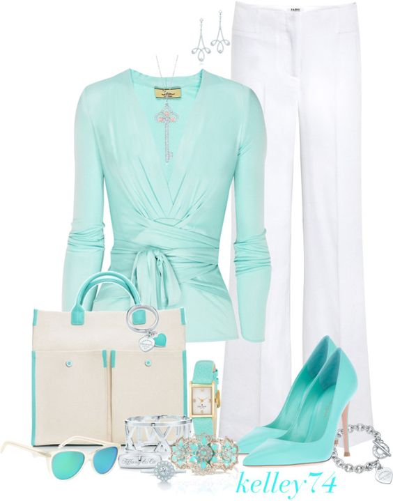 """Tiffany & Co. Bag"" by kelley74 on Polyvore"