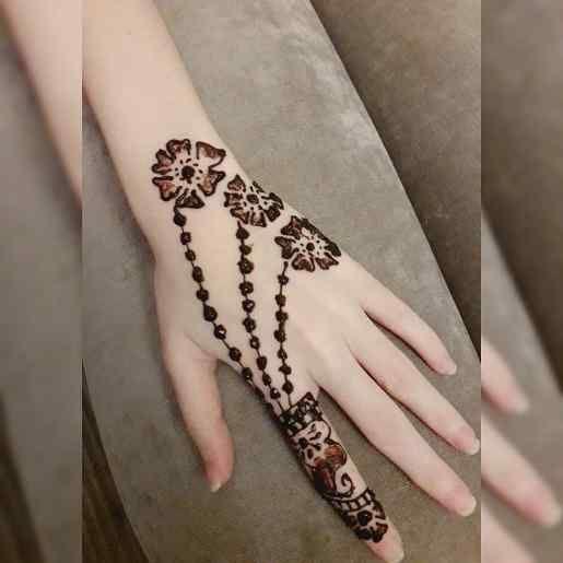 arabic modern mehndi designs simple and easy