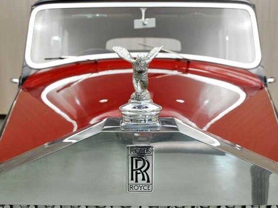 1949 Rolls Royce Silver Wraith Hood Ornament View