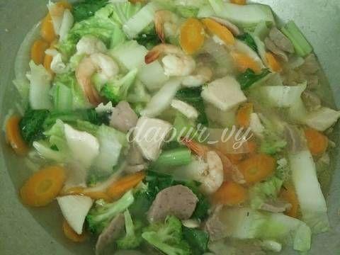Resep Cap Cay Kuah Seger Pr Capcay Oleh Dapurvy Resep Resep Makanan Resep Resep Masakan
