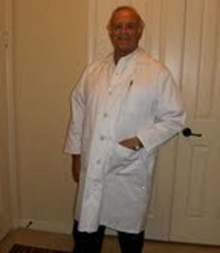 MEN'S WHITE1ST Quality LAB Coats FOR 5 00 EA January Blow OUT Sale   eBay