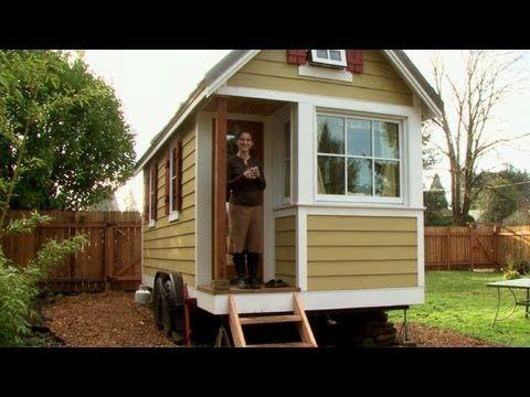 Les mini-maisons phénomène grandissant aux Etats-Unis