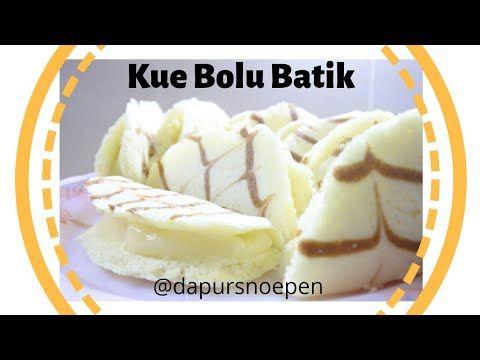 Resep Kue Bolu Batik Kukus Isi Fla Youtube Bolu Food Desserts