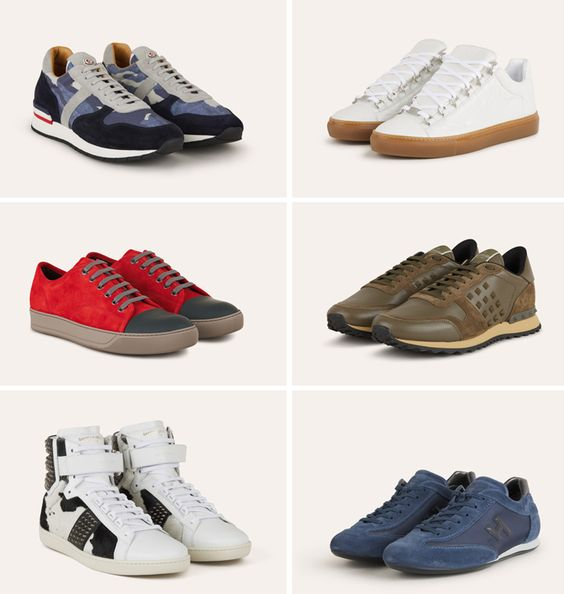 Sneakers by Hogan, Valentino, Giuseppe Zanotti, Lanvin, Moncler... Discover our selection at www.santaeulalia.com