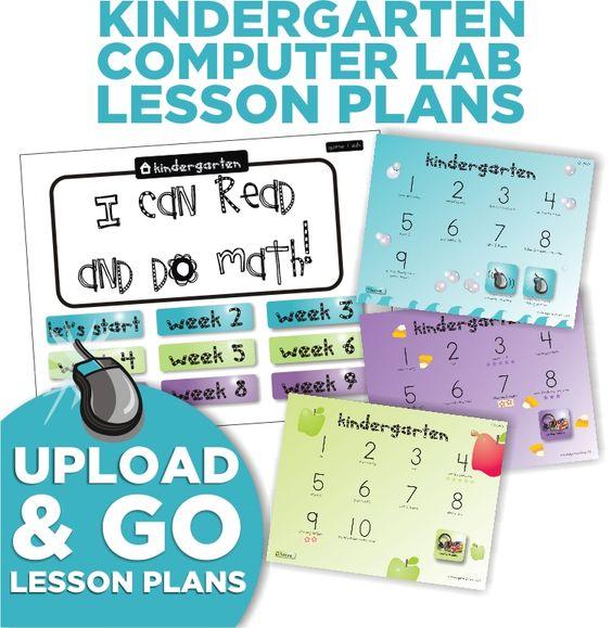 preschool computer activities kindergarten computer lab lesson plans computers 252