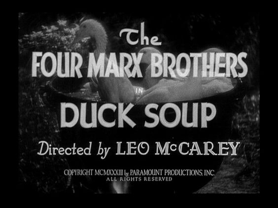 Duck Soup - The Marx Brothers